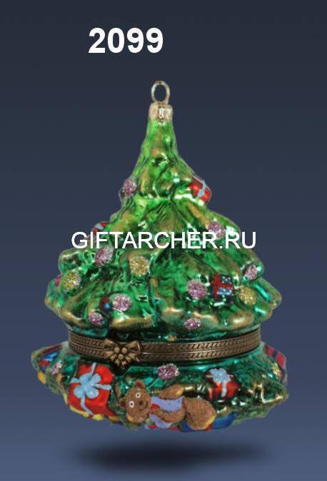 "Шкатулка ""Новогодняя елка"""