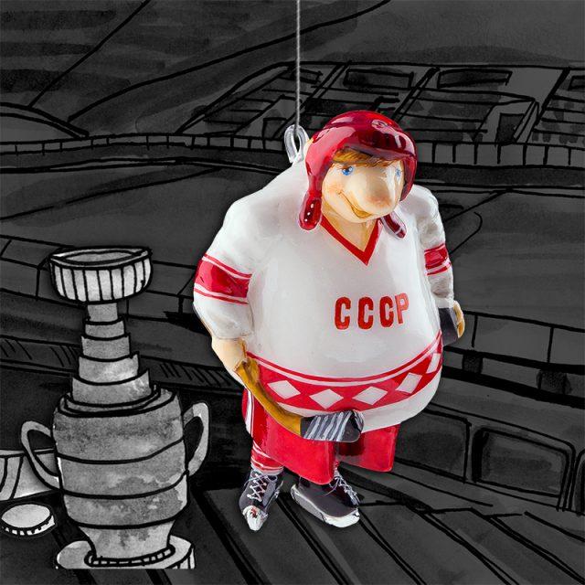 Хоккеист white